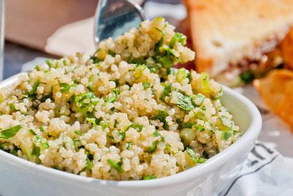instants mieux-être - Taboulé au quinoa